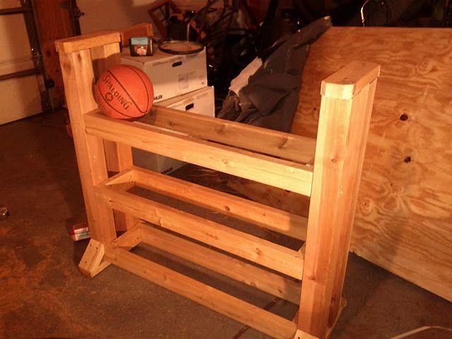 JakeParrillo.com: DIY Basketball Rack Cart