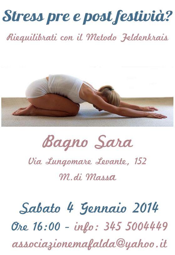 Stress pre e post festività Marina di Massa Sabato 4 Gennaio 2014