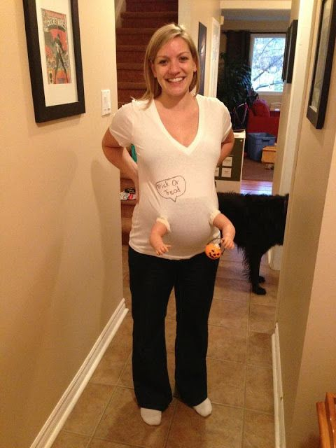 pregnant halloween costume and some ideas for a prego belly 31687