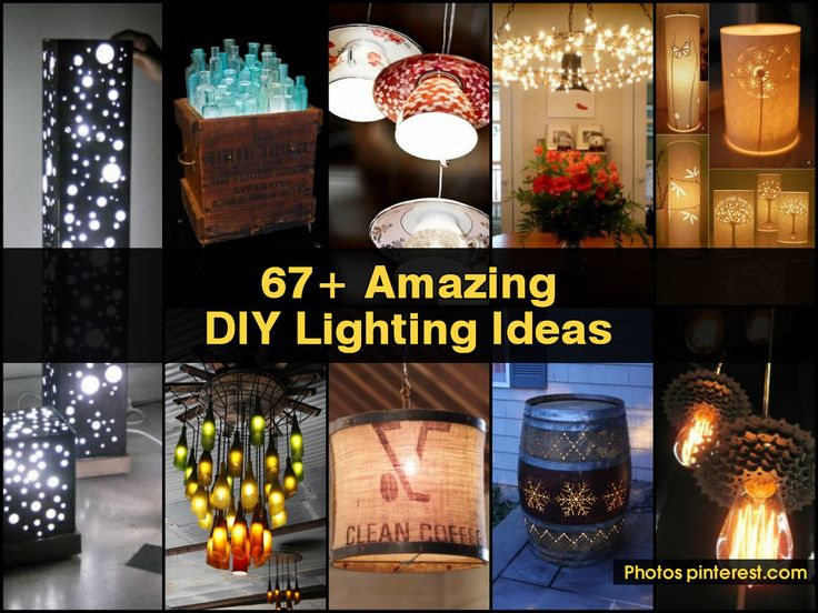 67+ Amazing DIY Lighting Ideas ~ Idees And Solutions