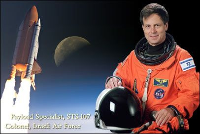 Ilan #Ramon, first #Israeli #astronaut. #2003 #Israel #NASA #pilot #space