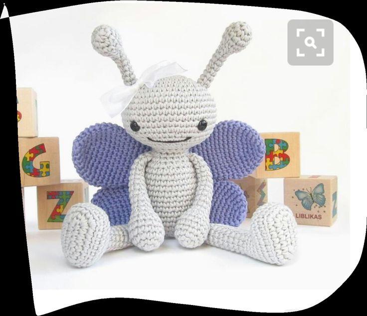 Mejores 46 imágenes de crochet en Pinterest | Muñecos de ganchillo ...