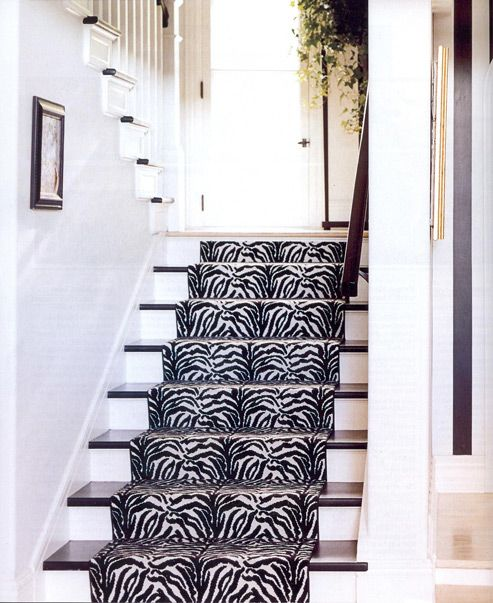 Zebra Runner... When I Get A House This Will Be The First