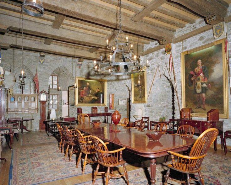 Eilean Donan Castle Interior Hall