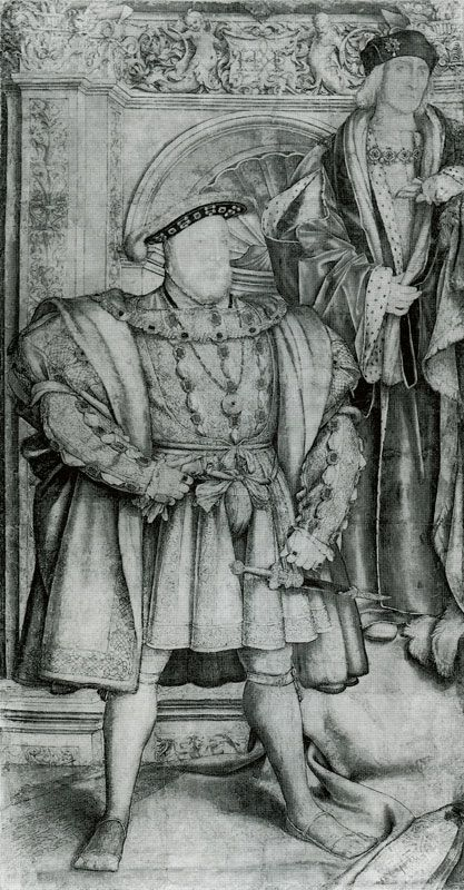 Hans Holbein the Younger, 1537 - - - King Henry VIII