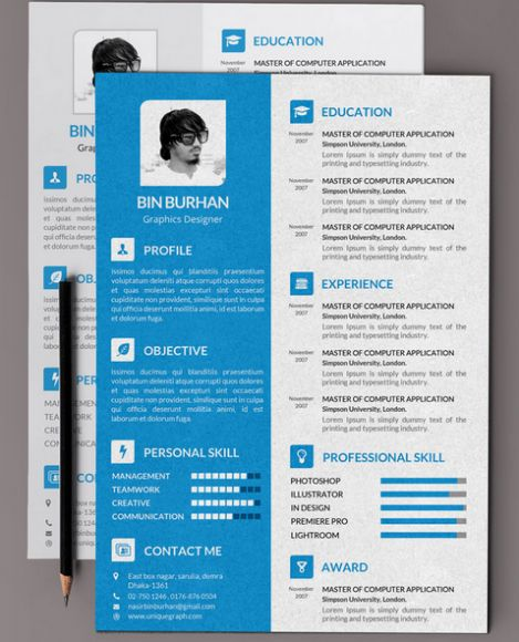 24 best Graphic Design Resumes images on Pinterest Graphic - graphic designer resume free download
