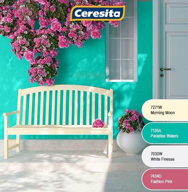 #CeresitaCL #PinturasCeresita #Color #Mundo #Creatividad #Pintura #Tendencia #Estilo #Decoración #Arquitectura #Inspiración *Códigos de color sólo para uso referencial. Los colores podrían lucir diferentes, según calibrado de su monitor.
