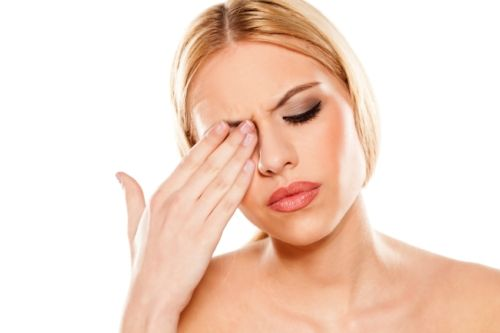 symptoms related to feeling pain behind the eye include a fever, tearing, redness, numbness, double vision, weakness, light sensitivity, sinus pressure, and feeling pain whenever you move your eye. #Pain #Eye