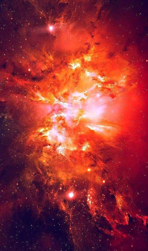 Oculus Superum, Red Nebula