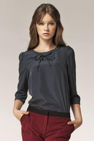 Bluzka+b36+-+kropki+w+NIFE+Fashion+na+DaWanda.com