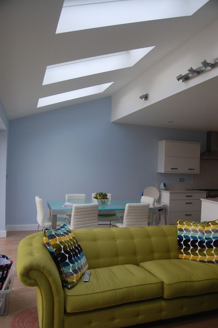 Concealed Beam With Vaulted Pitched Roof Extension