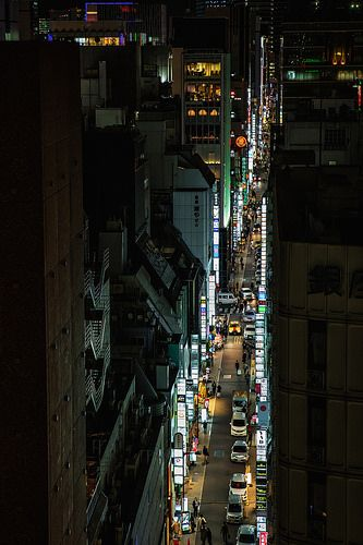 Ginza Alley Aerial | by Sandro Bisaro