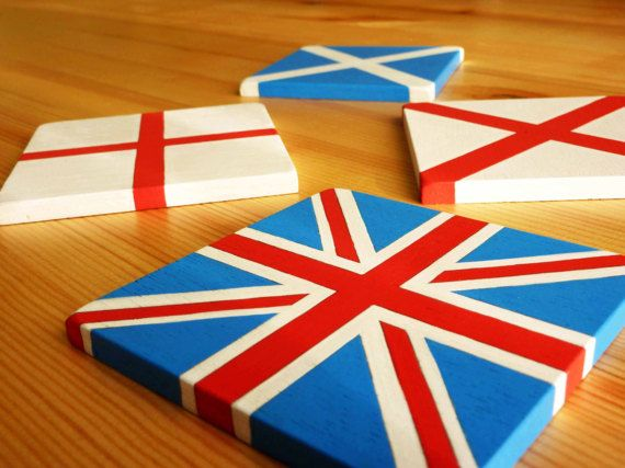 UNION JACK_Handmade handcrafted and hand painted unique