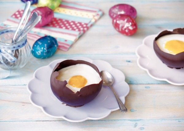Easter Egg Chocolate Mousse