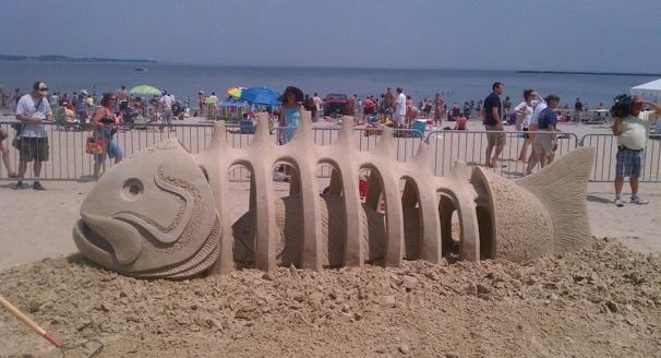 Revere Beach Sand Castles 2012: Revere Beach Sand Castle Photos | BostInno