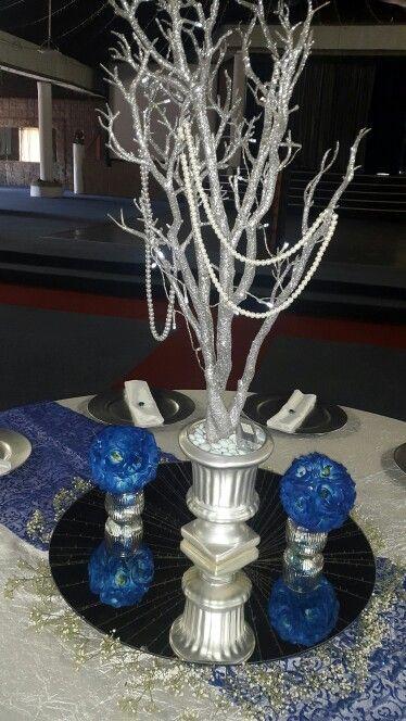 Royal Blue decor