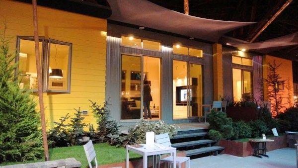 Ikea tiny house: Minis House, Tiny House,  Eating House, Prefab House, Pre Fab, Ikea Aktiv, Small House, Ikea House, Ikea Tiny