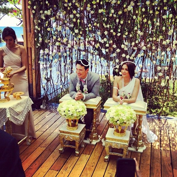 I wouldn't rule out having a Thai wedding.