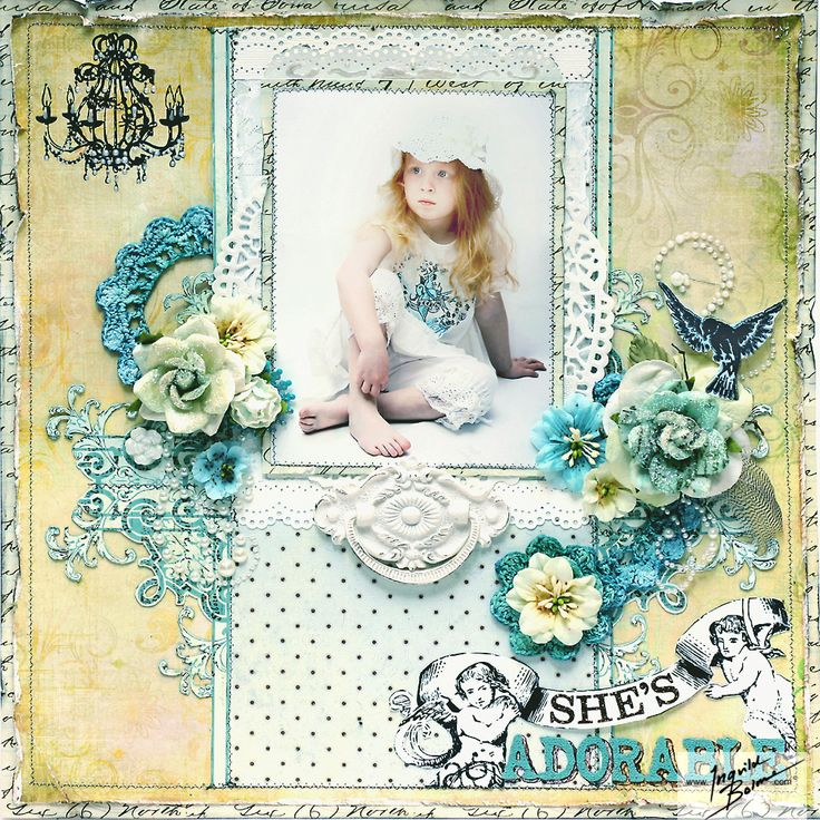 She's Adorable - Prima layout 2010