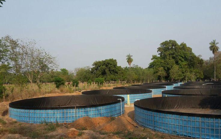 Mombox (Bolívar)  Es un proyecto desarrollado en el departamento de Bolívar, cuenta con 12 tanques de 1.30 de altura por 12 metros de diámetro, con una capacidad por tanque de 155 metros cúbicos de agua y un reservorio del mismo tamaño