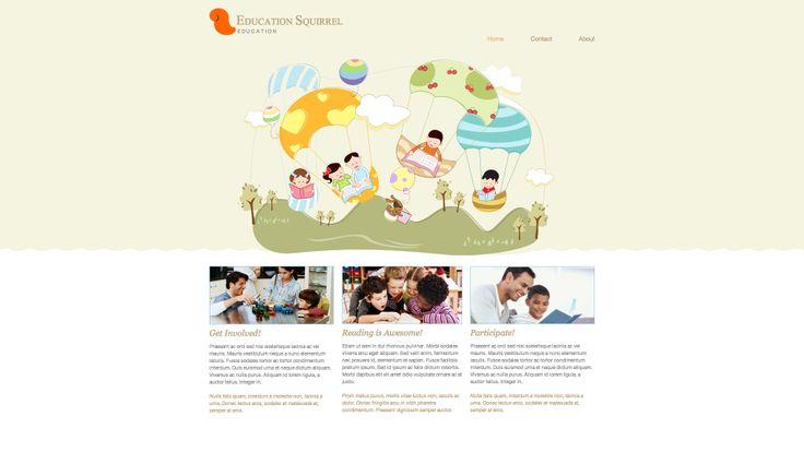 Dieño web sector educacion, infantil, guarderias y similares