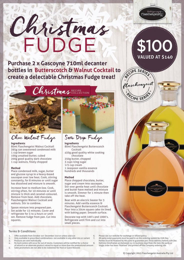 Christmas special 2015 Flaschengeist Cocktails
