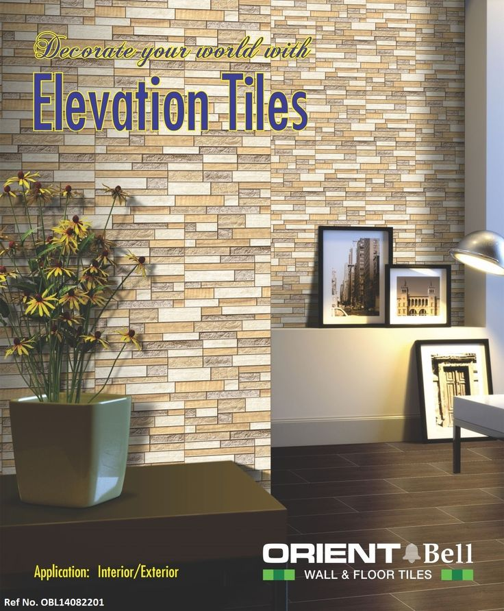 Orient Front Elevation Tiles : Best images about wall tiles on pinterest