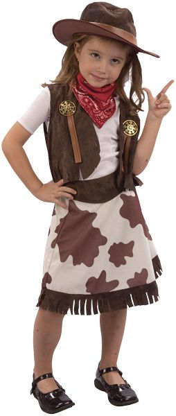 Bargains 4 Ever - Cowgirl Toddler Fancy Dress Costume Age 3, £7.99 (http://www.bargains4ever.com/cowgirl-toddler-fancy-dress-costume-age-3/)