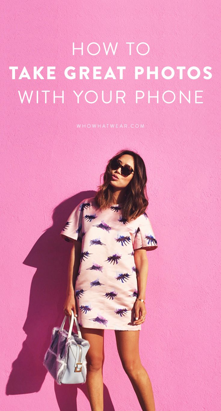 Learn how to take the perfect picture with your phone with these tips from Aimee Song of 'Song of Style'