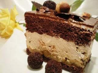 Tort cu fructe, ness si ciocolata, Rețetă Petitchef