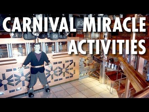 ▶ Carnival Miracle Review: Activities -- Carnival Cruise Lines -- Cruise Ship Review – PopularCruising.com