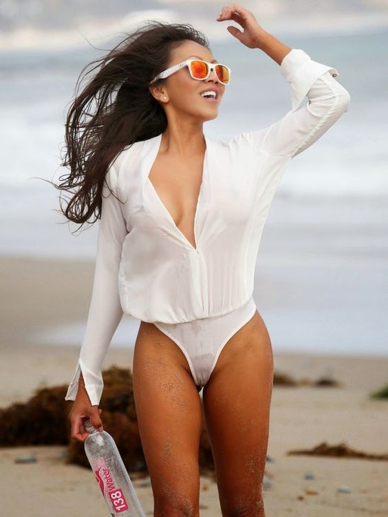 Image Result For See Through Wet White Tops  Fashion -1755