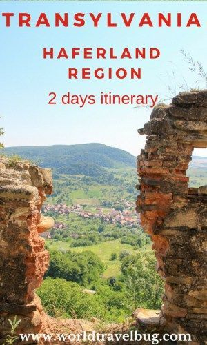 Transylvania, Haferland - a two days guide
