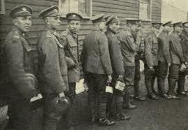 Algonquin men with the Canadian Expeditionary Force - circa 1916