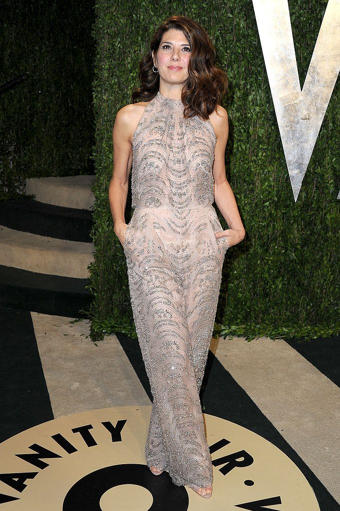 Marisa Tomei in embellished Valentino jumpsuit - Oscars Party Dresses 2013