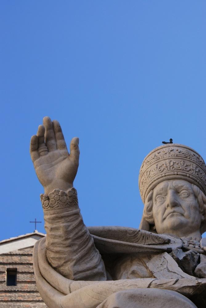 Clemente XII - Piazza del Papa - Ancona