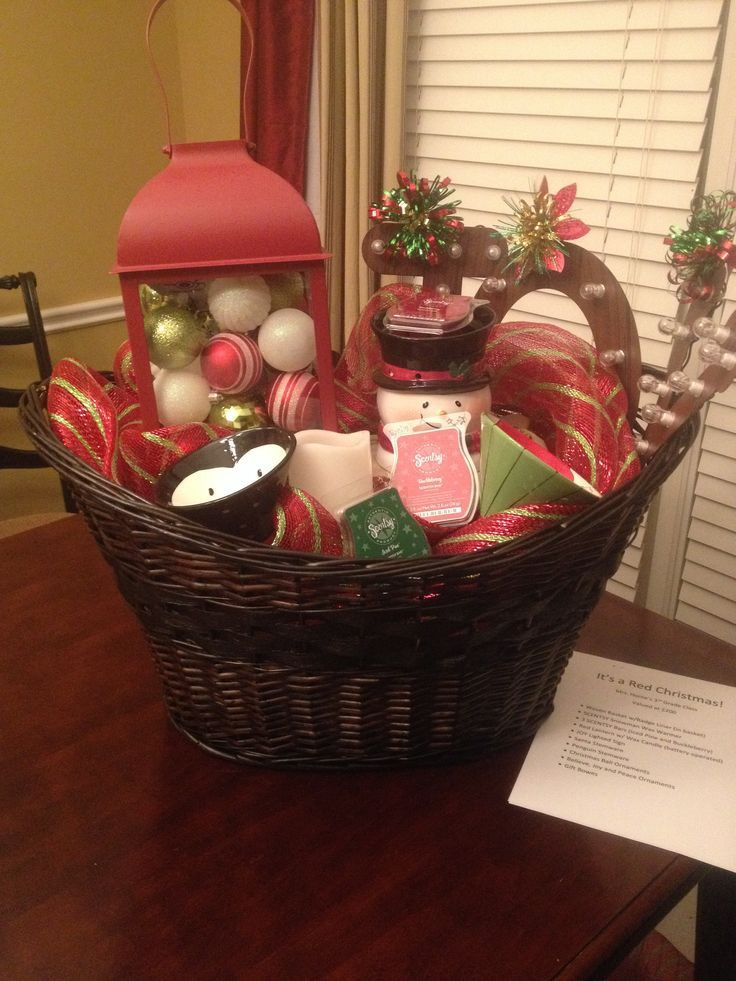 scentsy in 2020 Auction gift basket ideas, Silent