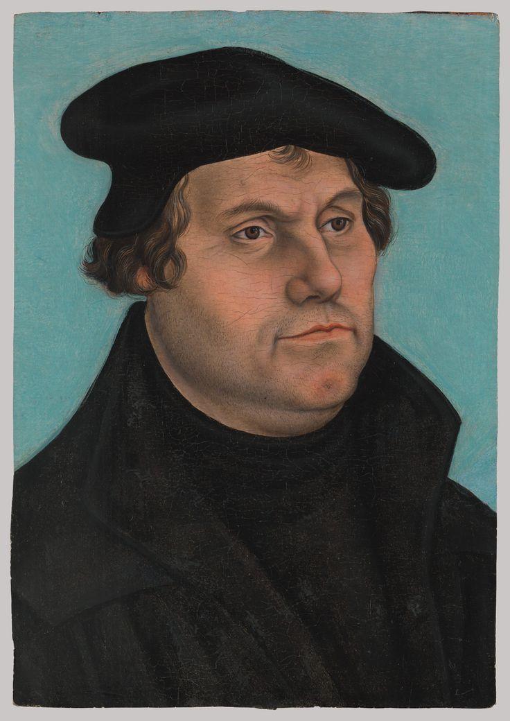 [MARTINHO LUTERO] AUTOR: Lucas Cranach, o Velho DATA: c. 1532 FONTE: Metropolitan Museum of Art (MET)