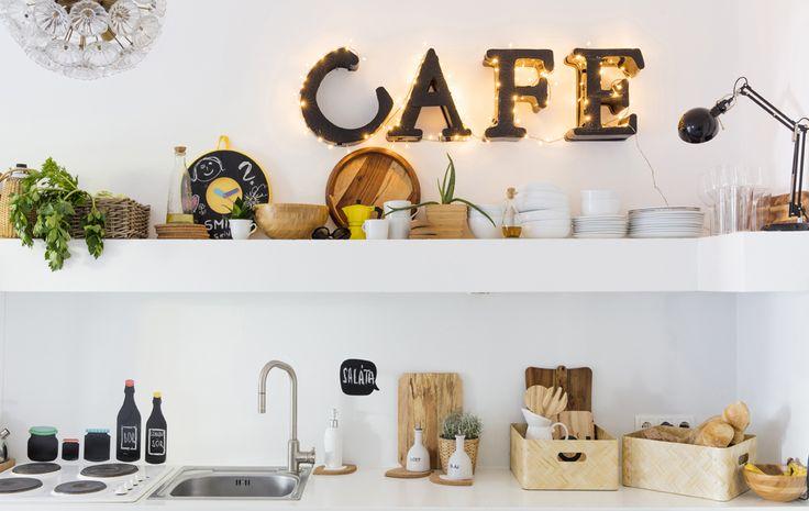 Use open storage to make everyday kitchenware easy to reach #IKEAIDEAS
