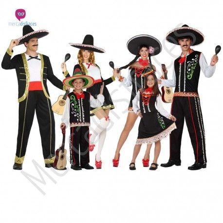 Disfraz #Mariachi para mujer #disfraces para #grupos #comparsas en #mercadisfraces.es tu #tienda de #disfraces #online