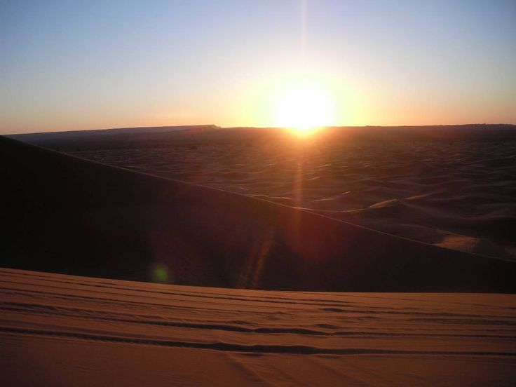 The Sahara Desert - I'd love to be there right now. Where would like to be?