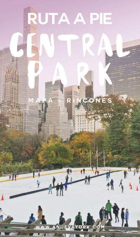 Guía de Central Park. Ruta a pie para descubrir los rincones más emblemáticos (con mapa).