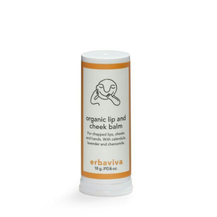 Baby Lip & Cheek Balm 18g, Hydraterende balsem voor lippen en wangen met een heerlijke geur en smaak. De balsem is een vochtinbrenger die helpt bij het herstel van de droge huid en een beschermende laag vormt bij koud of droog weer.