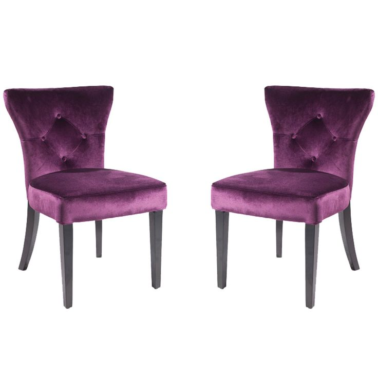 best 25 purple dining chairs ideas on pinterest purple. Black Bedroom Furniture Sets. Home Design Ideas