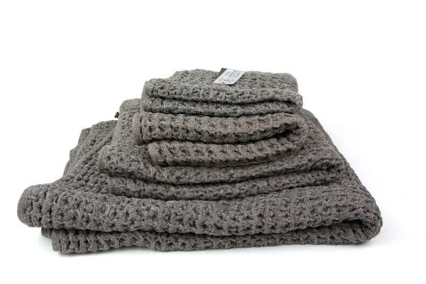 Lattice Towel, Brown - face towel as hand towel?