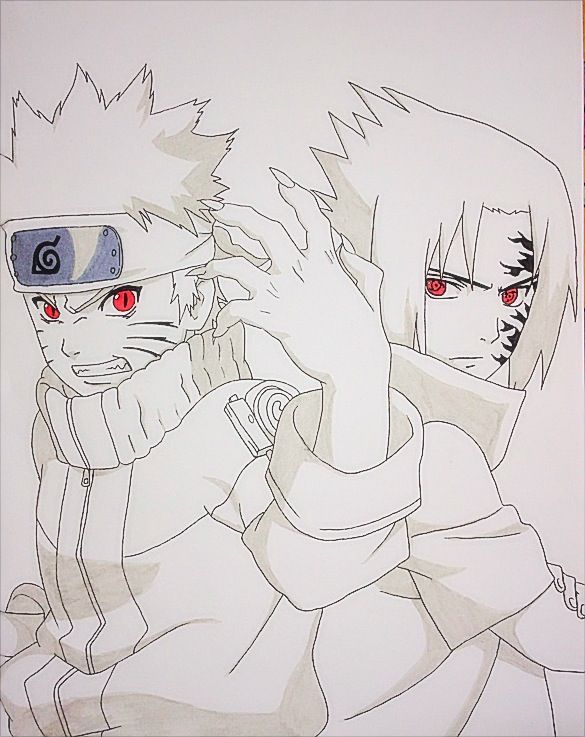 Naruto vs Sasuke by JoJoAsakura on DeviantArt