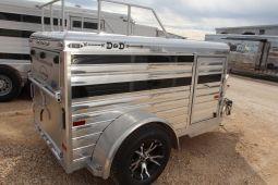 2014 Sundowner 4 x 8 Mini Stock ALUMINUM Bumper Pull TRAILER