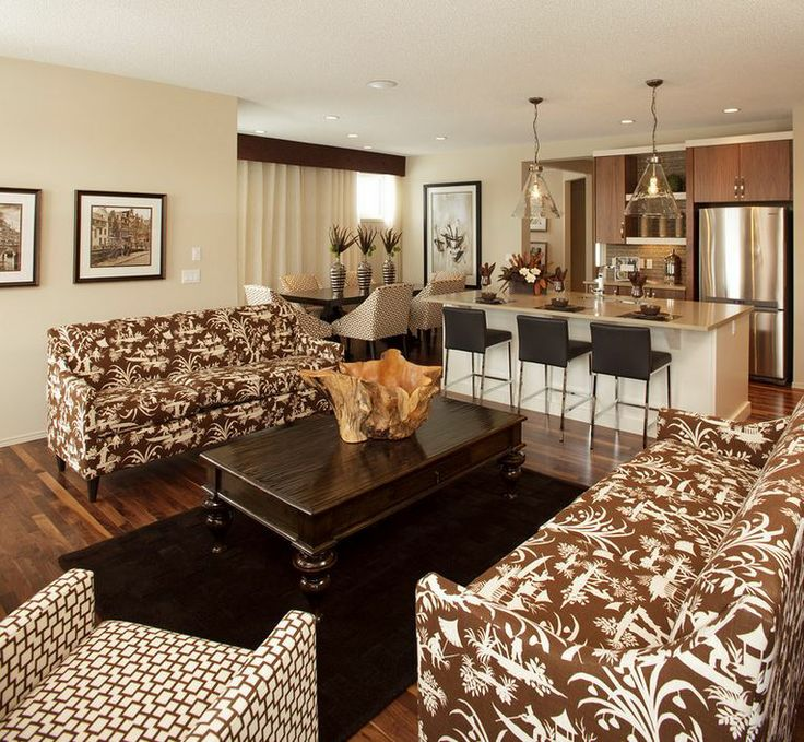 Awesome Great Rooms Tampa Part - 14: Patterned Couches Great Room
