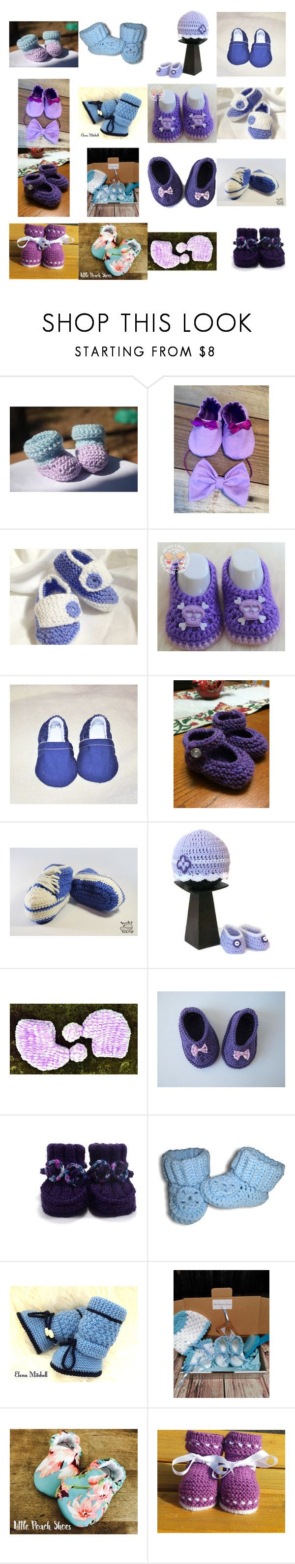 """Beautiful Baby Booties"" by kateduvall ❤ liked on Polyvore featuring UGG"
