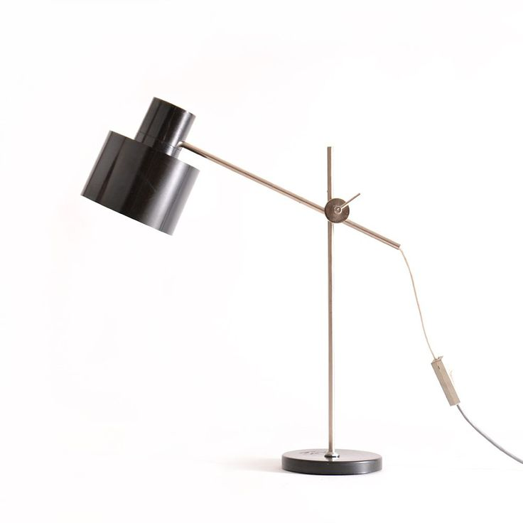 Black retro lamp